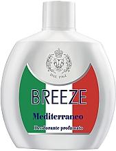 Духи, Парфюмерия, косметика Breeze Squeeze Deodorant Mediterraneo - Дезодорант для тела