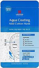 Духи, Парфюмерия, косметика Хлопковая маска для сухой и уставшей кожи лица - Leaders Ex Solution Aqua Coating Mild Cotton Mask