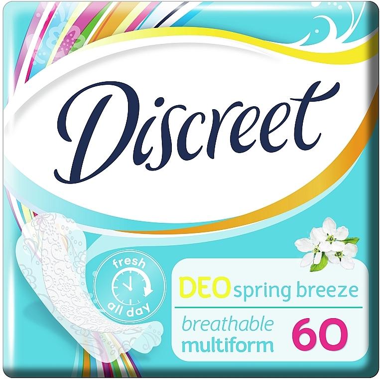 Ежедневные гигиенические прокладки Deo Spring Breeze, 60 шт - Discreet