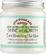 """Духи, Парфюмерия, косметика Маска для волос """"Для роста и блеска"""" - Lemongrass House Shine & Growth Mask"""