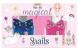Духи, Парфюмерия, косметика Набор лаков для ногтей - Snails Goes Happy You Are Magical (nail/polish/2х10.5ml)