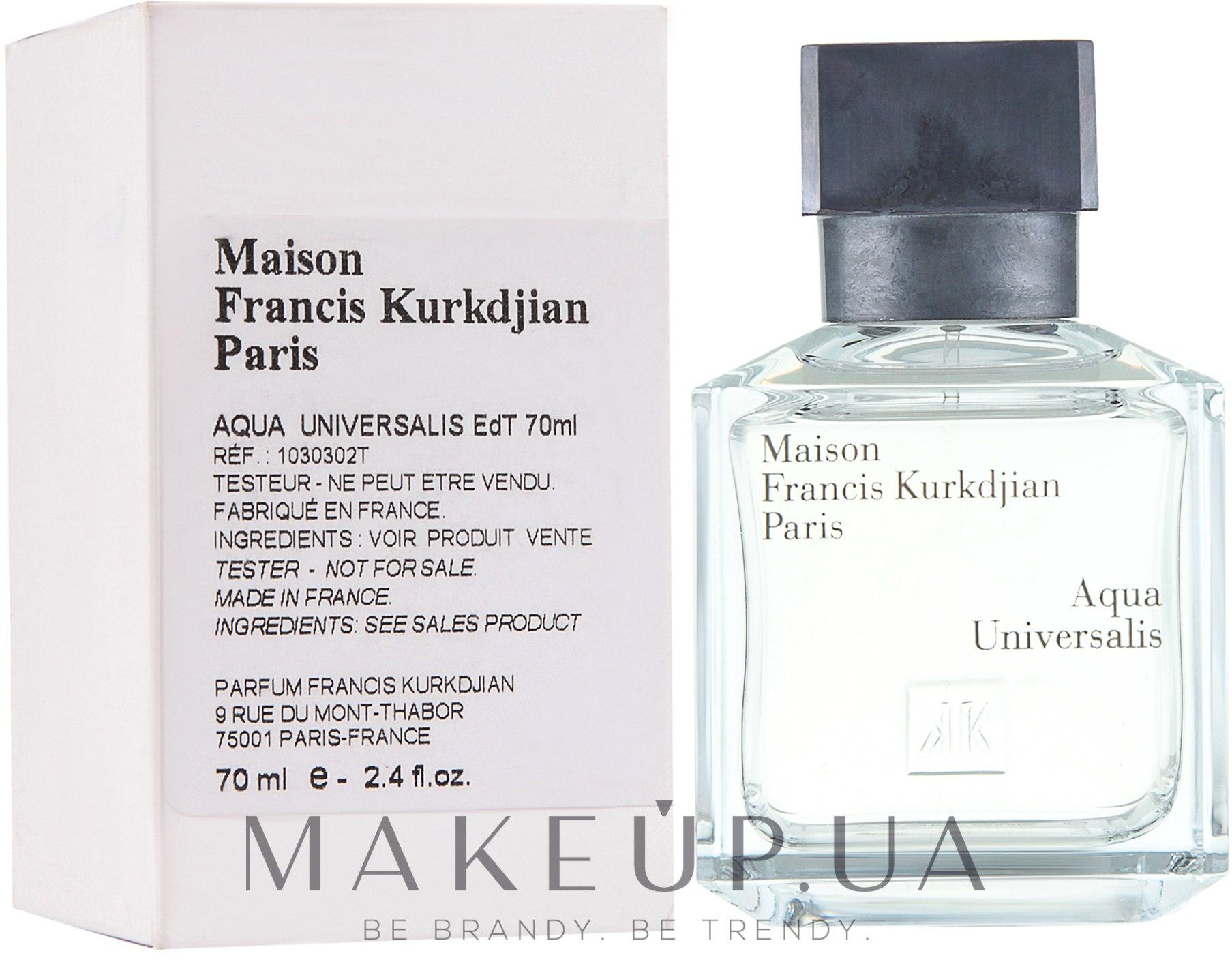 Makeup maison francis kurkdjian aqua universalis for Acqua universalis maison francis kurkdjian
