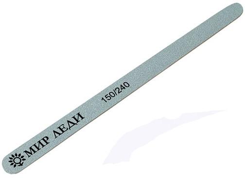"""Пилка для ногтей двухсторонняя """"Капля"""", 150/240 - Мир Леди Premium"""