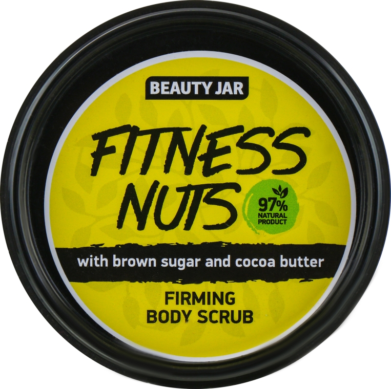 "Скраб для тела укрепляющий ""Fitness Nuts"" - Beauty Jar Firming Body Scrub"