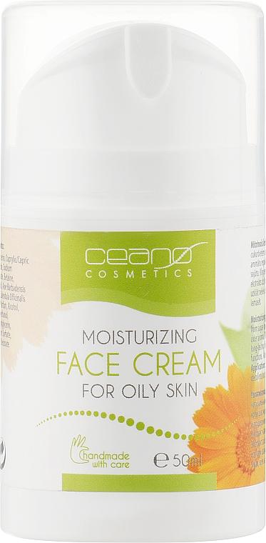Крем для обличчя - Ceano Cosmetics Face cream Moisturizing — фото N1