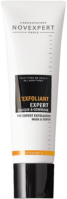 Маска-скраб для лица - Novexpert Vitamin C The Expert Exfoliator Mask & Scrub