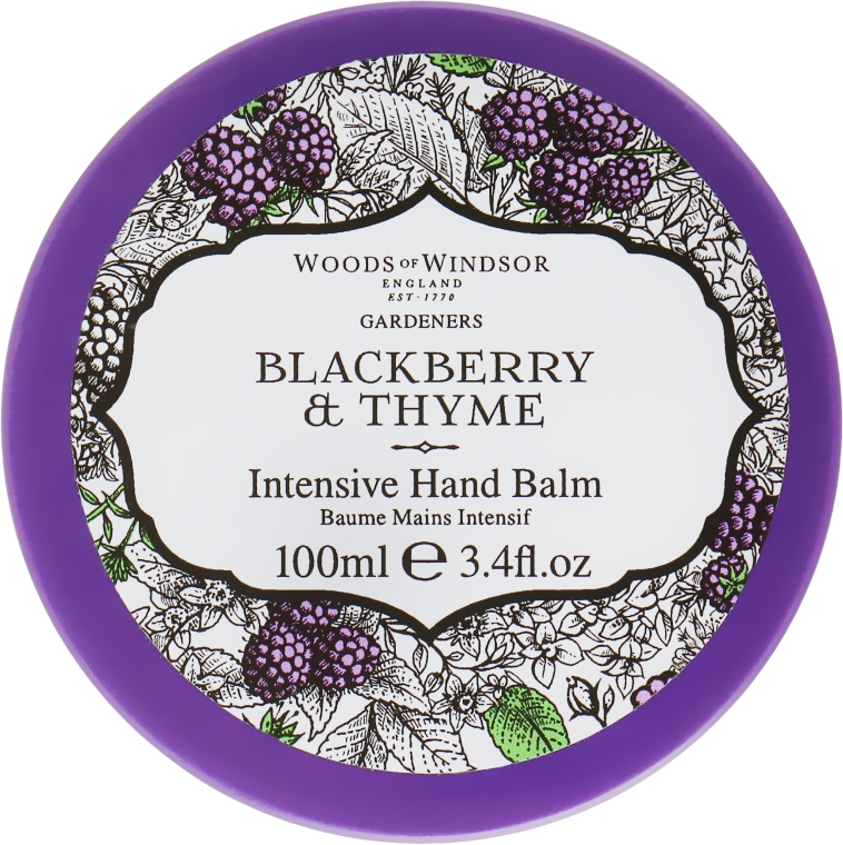 Бальзам для рук - Woods of Windsor Blackberry & Thyme Hand Balm