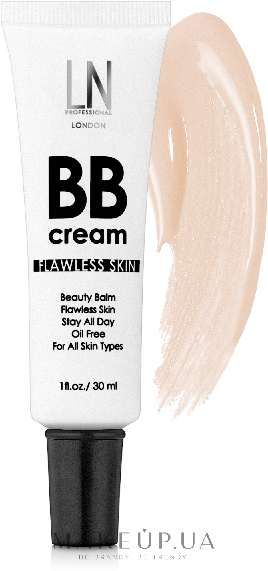 Тональный крем для лица - LN Professional BB Cream Flawless Skin — фото 001 - Light Beige