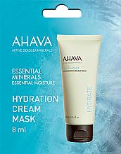 Духи, Парфюмерия, косметика Увлажняющая крем-маска - Ahava Time to Hydrate Hydration Cream Mask (пробник)