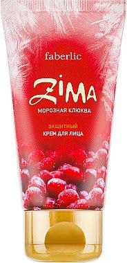 Защитный крем от непогоды для лица «Морозная клюква» - Faberlic Zima