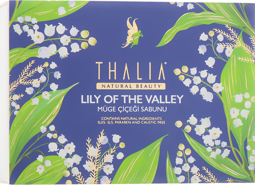 Натуральное мыло с ландышем - Thalia