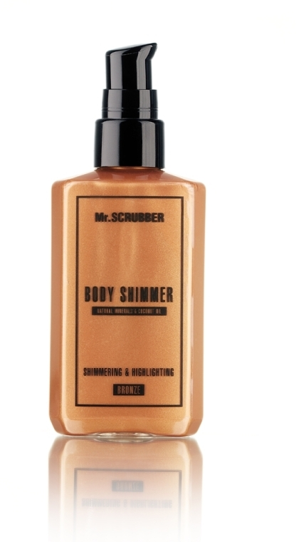 Шиммер для тела - Mr.Scrubber Body Shimmer Bronze
