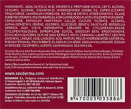 Нічний поживний крем проти старіння шкіри - SesDerma Laboratories Acglicolic 20 Nourishing Cream — фото N3