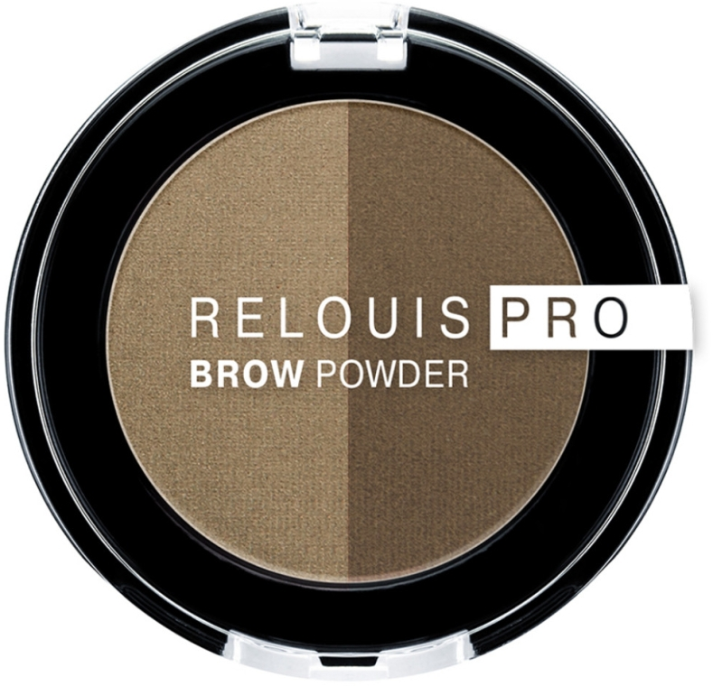 Тени для бровей - Relouis PRO Brow Powder