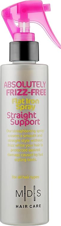 "Спрей для волос с эффектом ""утюжка"" - Mades Cosmetics Absolutely Frizz-Free Straight Support Spray"