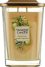 Духи, Парфюмерия, косметика Ароматическая свеча - Yankee Candle Elevation Citrus Grove
