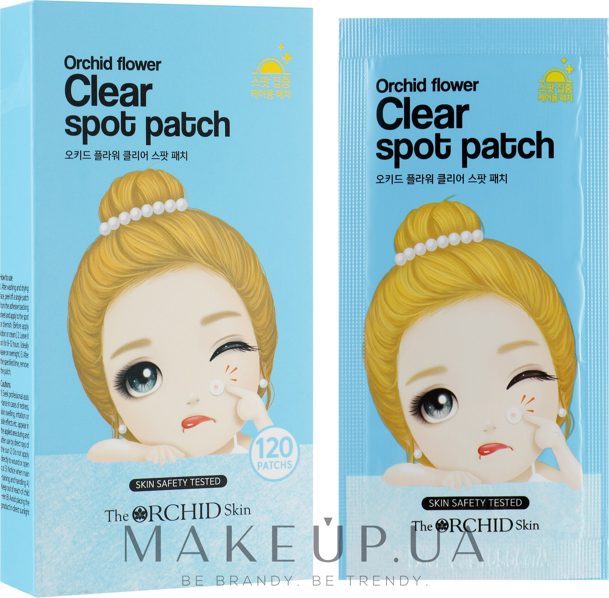 Очищающие точечные патчи - The Orchid Skin Orchid Flower Clear Spot Patch — фото 12шт