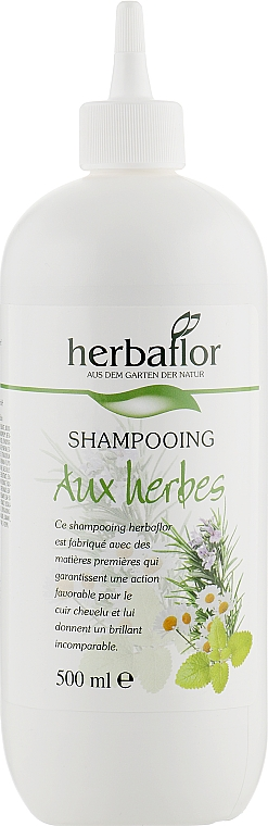 Шампунь для волос, травяной - Herbaflor Herbal Shampoo