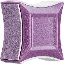 Духи, Парфюмерия, косметика Баф полировочный четырехсторонний, фиолетовый - Vizavi Professional