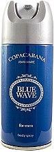 Духи, Парфюмерия, косметика Jean Marc Copacabana Blue Wave For Men - Дезодорант