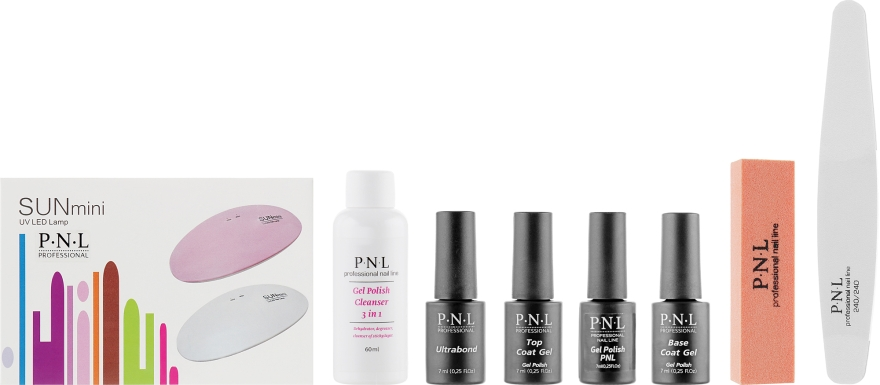 Стартовый набор для гель-лака - PNL Professional Nail Line