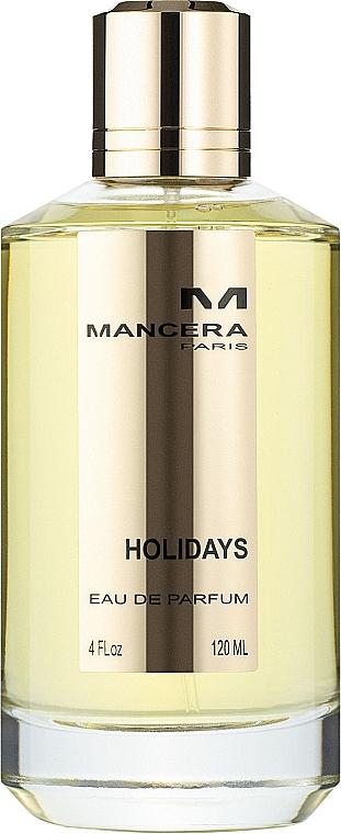 Mancera Holidays - Парфюмированная вода
