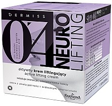 Духи, Парфюмерия, косметика Крем лифтинг активный для лица - Farmona Dermiss 0'4 Neuro Lifting