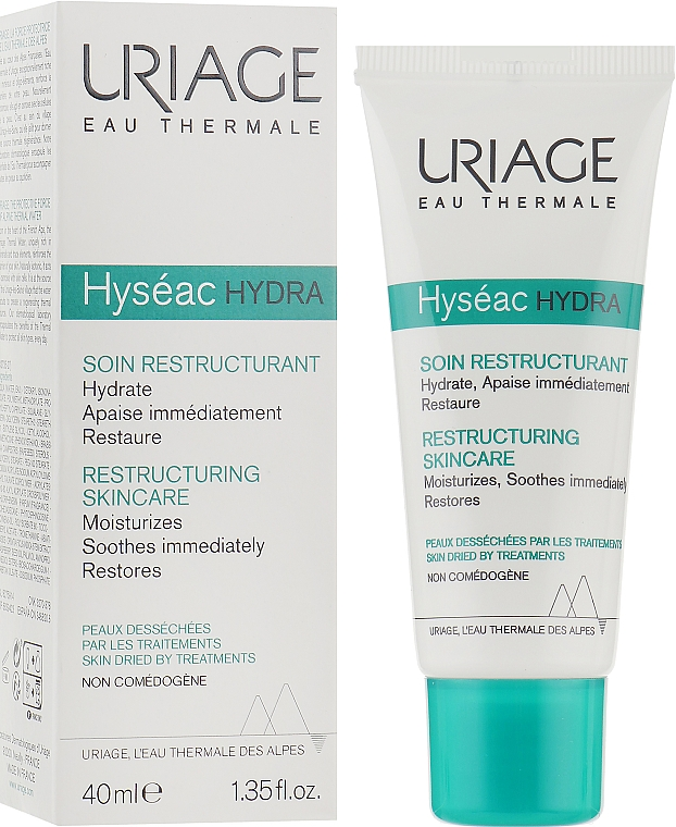 Восстанавливающий успокаивающий уход - Uriage Hyseac R Restructuring Skin Care
