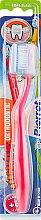 Духи, Парфюмерия, косметика Детская зубная щетка мягкая, красная - Pierrot Junior Soft