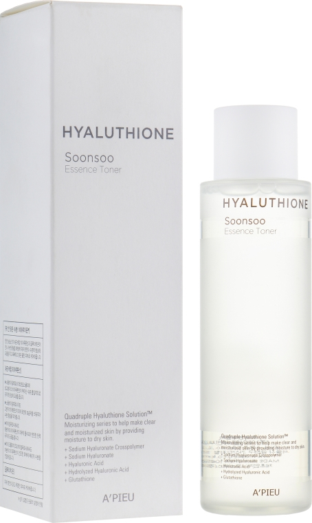 Увлажняющий гиалуроновый тонер - A'pieu Hyaluthione Soonsoo Essence Toner