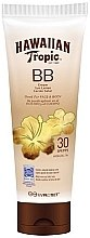 Духи, Парфюмерия, косметика Солнцезащитный лосьон для тела и лица - Hawaiian Tropic BB Cream Sun Lotion Face And Body Spf30