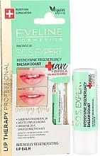 Духи, Парфюмерия, косметика Бальзам для губ - Eveline Cosmetics Lip Therapy Sos Expert Care Formula Intensely Regenerating Lip Balm