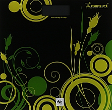 Духи, Парфюмерия, косметика Весы электронные напольные 5870-3, чёрно-зелёные - Momert 5878-3