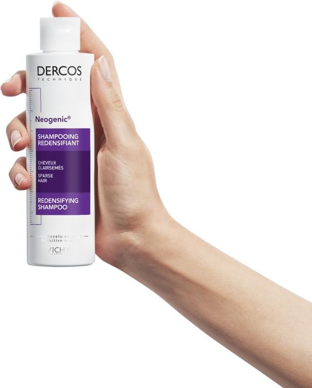 Укрепляющий шампунь для повышения густоты волос со Стемоксидином - Vichy Dercos Neogenic Redensifying Shampoo — фото N6