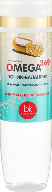 Тоник-балансир для сухой и чувствительной кожи - Belkosmex Omega 369