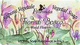 """Духи, Парфюмерия, косметика Мыло натуральное """"Лесные цветы"""" - Florinda Sapone Vegetale Vegetal Soap Wood Flowers"""