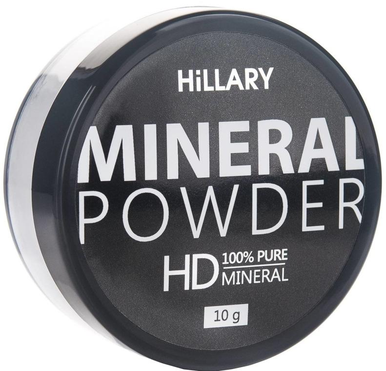 Прозрачная рассыпчатая пудра - Hillary Mineral Powder HD