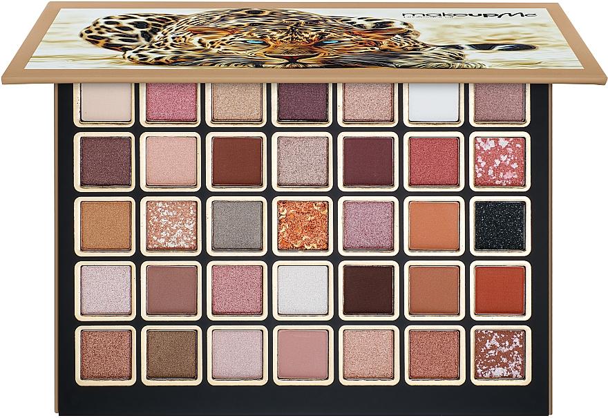 Профессиональная палитра теней 35 цветов, NP35-2 - Make Up Me