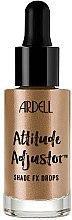 Духи, Парфюмерия, косметика Жидкий хайлайтер для лица - Ardell Attitude Adjustor Shade FX Drops