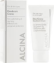 Духи, Парфюмерия, косметика Кремовый дезодорант - Alcina B Deodorant Cream