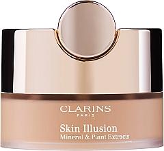 Духи, Парфюмерия, косметика Минеральная рассыпчатая пудра - Clarins Skin Illusion Loose Powder Foundation