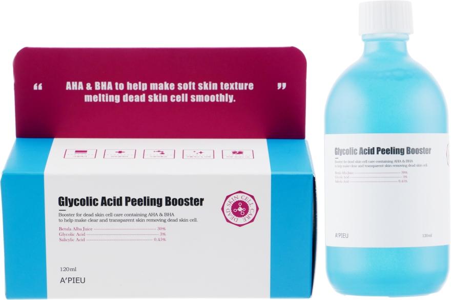 Гликолевый пилинг-бустер - A'pieu Glycolic Acid Peeling Booster