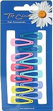 Духи, Парфюмерия, косметика Заколки для волос 12 шт, 23453, разноцветные - Top Choice