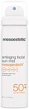 Духи, Парфюмерия, косметика Солнцезащитный спрей для лица с антивозрастным эффектом - Mesoestetic AntiAging Facial Sun Mist SPF 50