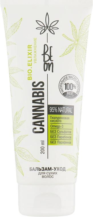 """Бальзам-уход """"Увлажнение"""" для сухих волос - Beon Cannabis Bio.Elixir"""