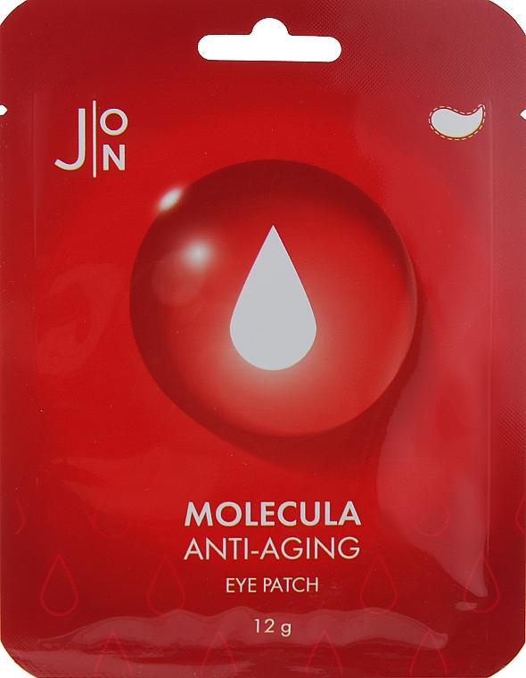 Антивозрастные патчи для кожи вокруг глаз - J:ON Molecula Anti-Aging Eye Patch