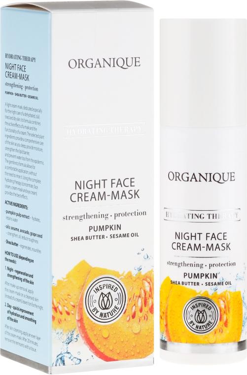 Интенсивно увлажняющая ночная крем-маска - Organique Hydrating Therapy Night Face Cream-Mask