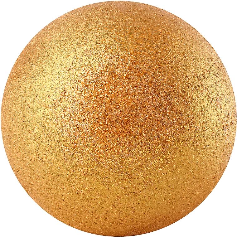 "Бомбочка для ванны ""Золотая карамель"" - Apothecary Skin Desserts"