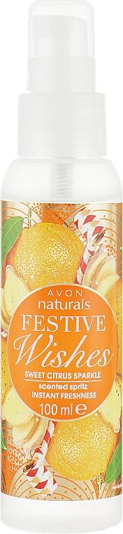 "Лосьон-спрей для тела ""Сладкая цитрусовая искорка"" - Avon Naturals Festive Wishes Sweet Citrus Sparkle"