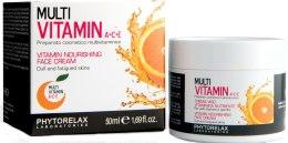 Духи, Парфюмерия, косметика Витаминный питательный крем для лица - Phytorelax Laboratories Multi Vitamin A+C+E Vitamin Nourishing Face Cream